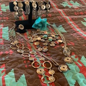 Jewelry - Ginger Snap Necklaces, Bracelets, Ring with Snaps